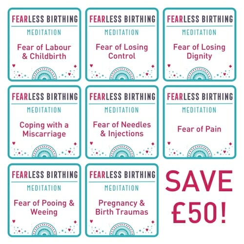 Fearless Birthing Meditation Bundle