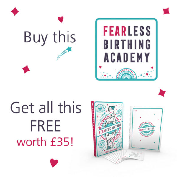 Fearless Birthing Academy Gift Set
